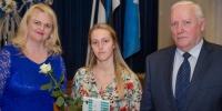 Räpina Ühisgümnaasiumi õpilane Keilit Adson