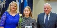Räpina Ühisgümnaasiumi õpilane Agnes Leek