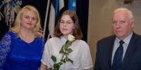 Räpina Ühisgümnaasiumi õpilane Karoliina Raudberg