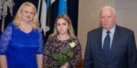 Räpina Ühisgümnaasiumi õpilane Kirke Tammpere