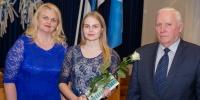 Räpina Ühisgümnaasiumi õpilane Mariin Tikka