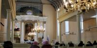 Vabariigi aastapäeva jumalateenistus Räpina Miikaeli kirikus. Foto: Meriliin Vahesaar