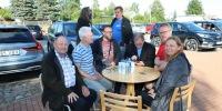 II Eesti Mälumängufestival - vabaõhu mälumänguvõistlus avaõhtul, 31. juulil. Foto: Aivo Parmson