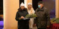 Ristipalo pansionaadi juhataja, Räpina valla tänukirja vastne omanik juhataja Lea Tähe. Foto: Merle Värv