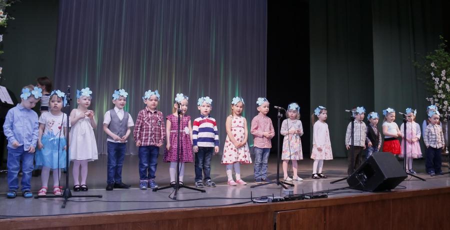 Lasteaia kevadkontsert