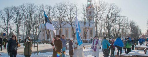 Eesti Vabariigi 100. aastapäeva kontsert-jumalateenistus ja mälestushetk